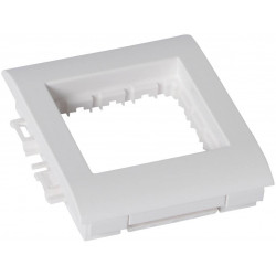 Суппорт 1-постовой 2м Mosaic - для кабель-каналов Metra 85х50, 100х50, 130х50 638071