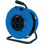Удлинитель на катушке Power Cube 16А/3,5 кВт, 50м, 4 розетки с заземлением