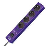 Сетевой фильтр Hugo! 19.5 А; 4 розетки; кабель 2 метра