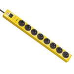 Сетевой фильтр Hugo! 19.5 А; 8 розеток; кабель 2 метра